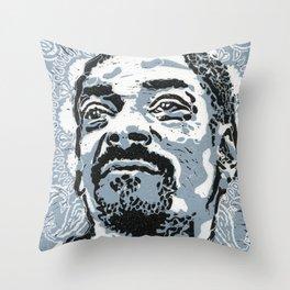 Snoop Throw Pillow