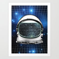Astro Static Art Print