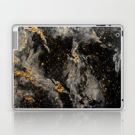 Galaxy (black gold) Laptop & iPad Skin