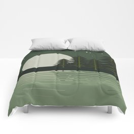Skeleton Trees Comforters