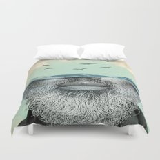 Under the water line Duvet Cover