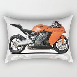 KTM RC8 motorbike Rectangular Pillow