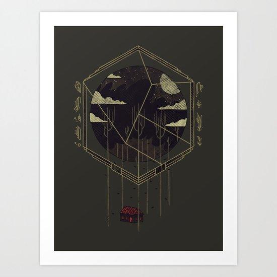The Dark Woods Art Print