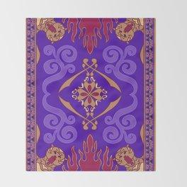 Aladdin Purple Magic Carpet Throw Blanket