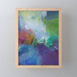 Paint Dance Framed Mini Art Print