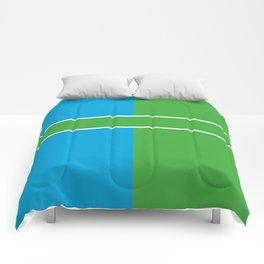 Team Color 6...Light blue,green Comforters