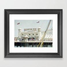 Brighton Pier Framed Art Print