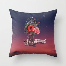 Flourishing of Life Throw Pillow