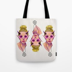 Monster Girl #3 Tote Bag