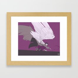 Cas - ace palette Framed Art Print