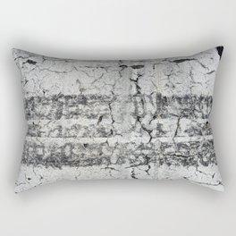 Urban Photography - Road Markings Tire Tracks Rectangular Pillow