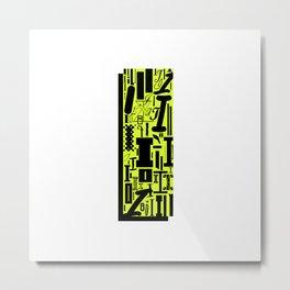 Letter I Metal Print