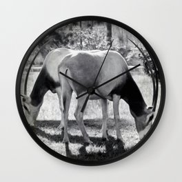 Scimitar Oryx Wall Clock