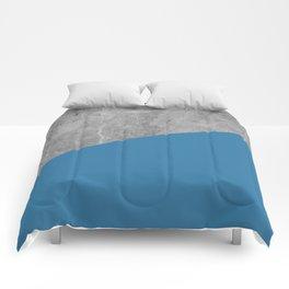 Geometry 101 Saltwater Taffy Teal Comforters