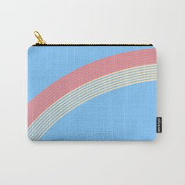 rainbow stripe 10 Carry-All Pouch