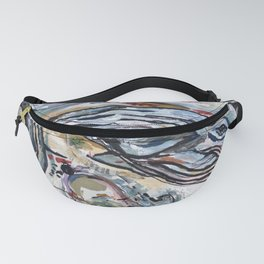 Whale/Shark Illusion Fanny Pack