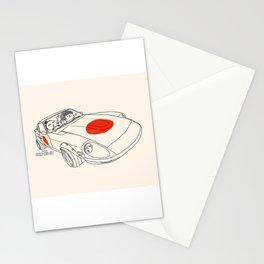 Crazy Car Art 0160 Stationery Cards
