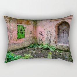 Urban Exploration Rectangular Pillow