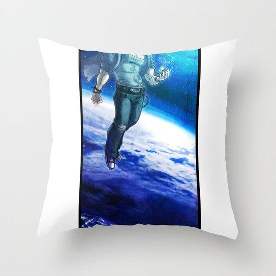 Ornithopter Throw Pillow