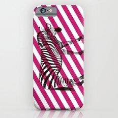 Nerd Zebra (Pink) iPhone 6s Slim Case