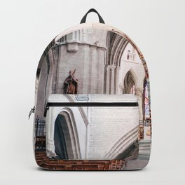The Netherlands 0002: Church in Hulst, The Netherlands (002) Backpack