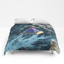 Floating Pyramid Comforters