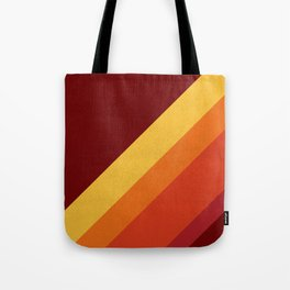 Retro 70s Color Palette II Tote Bag