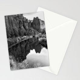 Smith Rock Morning Glow bw Stationery Cards