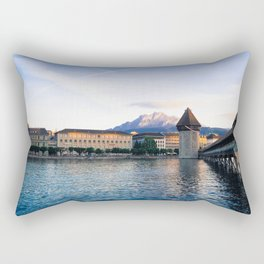 Fairytale town Rectangular Pillow