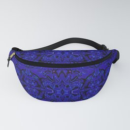Midnight Madness Abstract Fanny Pack
