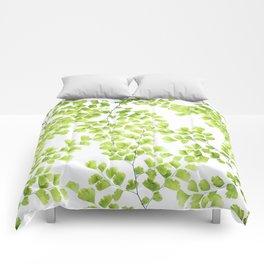 Ginko Leaves Comforters