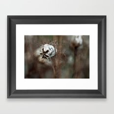{faded love} Framed Art Print