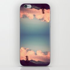 Pink Clouds iPhone & iPod Skin