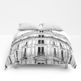 Parisian Facade Comforters