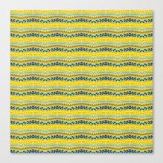 Lemon summer Canvas Print