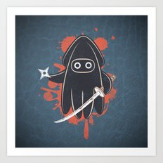 Ninja Ink Art Print