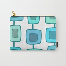 MidCentury Modern Swatches (Turquoise) Carry-All Pouch