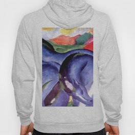 """Franz Marc """"The Large Blue Horses"""" Hoody"""