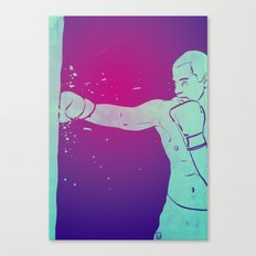 Boxing Club 6 Canvas Print