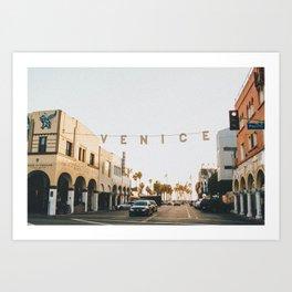 venice / los angeles, california Art Print