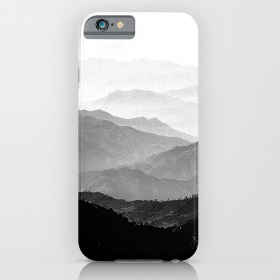 Mountain Mist - Black and White Collection iPhone & iPod Case