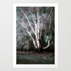 The Old Man of the Forest (False Colour) Art Print