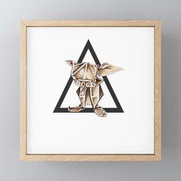 Always Free 2 - Wild World Of Paper Framed Mini Art Print
