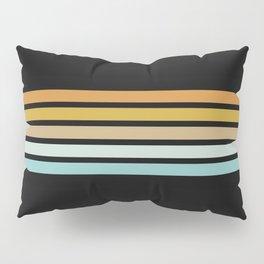 Retro Sunshine Stripes Pillow Sham