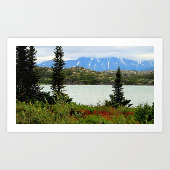 View of the Rockies Art Print