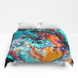 Paint Swirl Euphoria Comforters