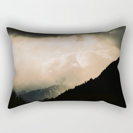 Alpes reality show Rectangular Pillow
