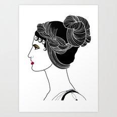 Helen of Troy Art Print