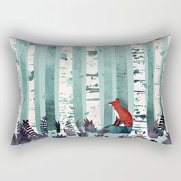 The Birches Rectangular Pillow