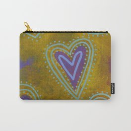 Heart No. 3 Carry-All Pouch